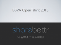 BBVA Open Talent 2013, lo importante es participar ;)